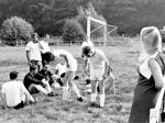 Fußball Tunier in Mechede und Selm. Mit Kaplan Th. Wehren in Selm